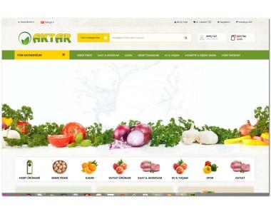 OsdemTema  Opencart Aktar meyve sebze yöresel3x Site Teması