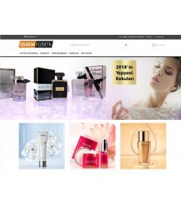 OsdemTema Kozmetik, Parfumeri Mağaza Site Teması