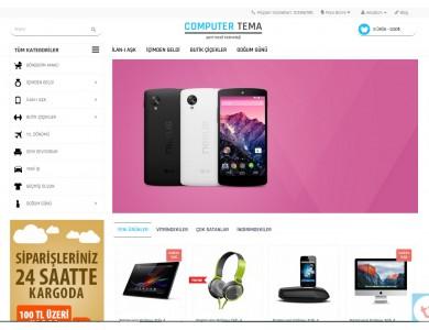 Osdem Computer - Bilgisayar Mağaza Site Teması