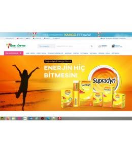 OsdemTema  Dermo Kozmetik Ürün satış Opencart 3x    Site Teması