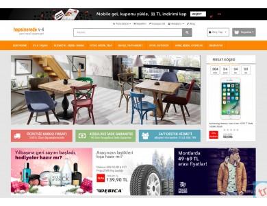 Hepsiburda Konsept v4 Full E-ticaret Hazır Site Paketi