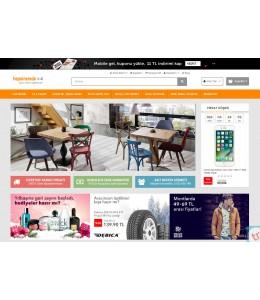 Hepsiburda Konsept v4 Full E-ticaret Hazır Site Paketi Açık kaynak