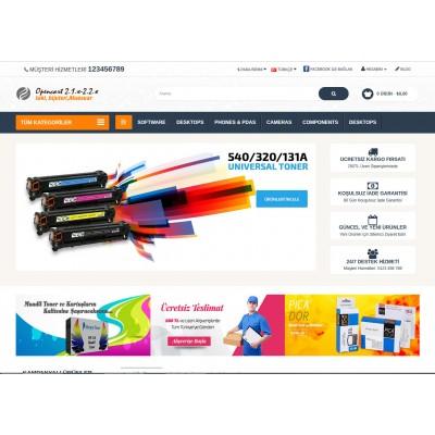 Toner Kartuş Yazıcı Mağaza  Site Teması