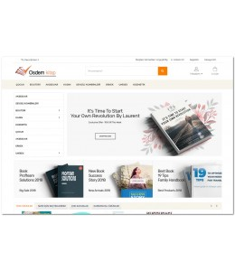 OsdemTema Kitap Satış Opencart 3x Site Teması