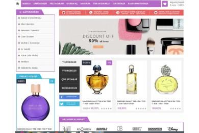 Kozmetik-Parfümeri  Marketing  Site Teması