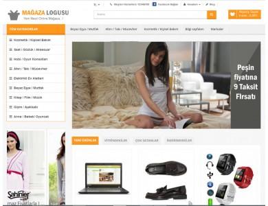 Opencart Genel Marketing Site Teması