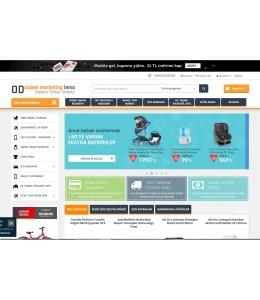 Opencart  Marketingv6 Full E-ticaret Hazır Site Paketi