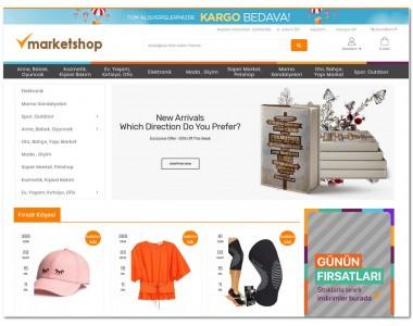 OsdemTema Market Plus Genel Market  Opencart 3x Site Teması