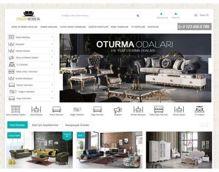 Osdem Mobilya Satış Opencart 3x Site Teması