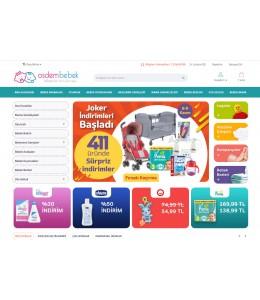 OsdemTema Bebek ürünleri Satış  Opencart 3x Site Teması