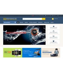 Osdem Elektronik, Cep Telefonu ve Aksesuar Mağaza  Site Teması