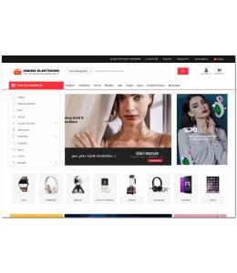 OsdemTema    Elektronik Ürün satış Opencart 3x    Site Teması