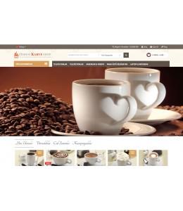 Kahve Kuruyemiş ve Pastane Satış  Opencart 2.1x Site Teması