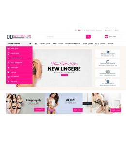 OsdemTema İcgiyim ve Çamaşır Mağaza Site Teması