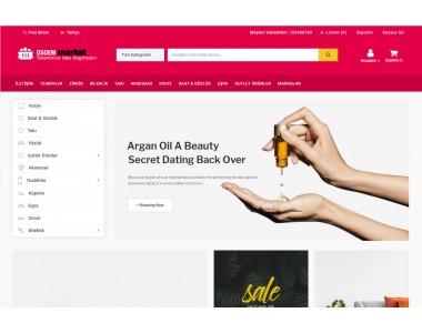 OsdemTema  Opencart genel market 3x Site Teması