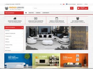 Osdem Mobilya Mağaza Site Teması