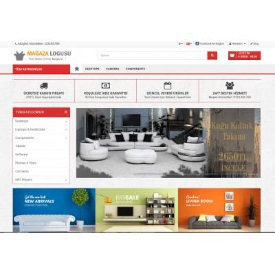 OsdemTema Mobilya Mağaza Site Teması