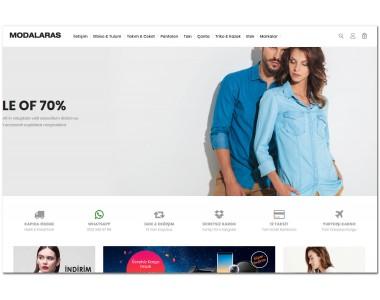 OsdemTema Moda giyim Opencart 3x Site Teması