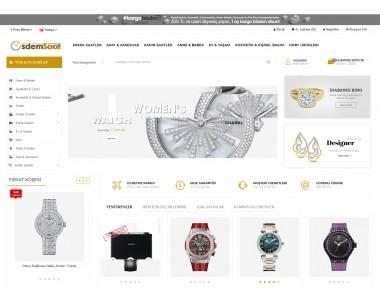 OsdemTema  Saat Aksesuar Takı Ürün satış Opencart 3x    Site Teması