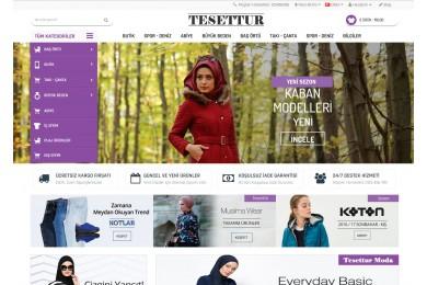Osdem Moda - Giyim - Tesettur Mağaza Site Teması