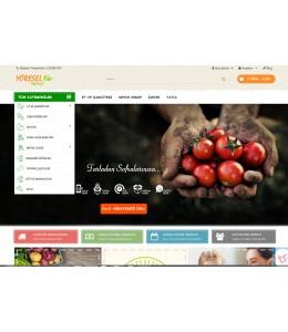 Osdem   Yöresel &Petshop Mağaza  Site Teması