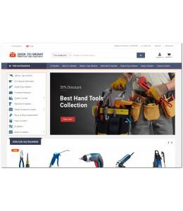 OsdemTema   Oto yedek parça ve Hırdavat ürünleri  3x  Site Teması