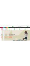 Moda Giyim E -ticaret Site Teması