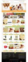 Şarküteri ve Yöresel Ürünler Satış Opencart 3x Site Teması