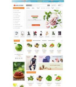 OsdemTema  Opencart Organik meyve sebze yöresel3x Site Teması