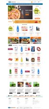 Opencart Süpermarket ve Gıda ürünleri satış Full E-ticaret Hazır Site Paketi