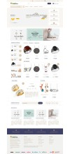 Bijuteri, Takı ve Aksesuar Mağaza Site Teması