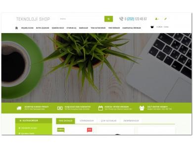 Elektronik Ürün Site Teması