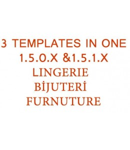 Sale..! 3 templates in one 1.5.0.x- 1.5.1.x. all versiyon