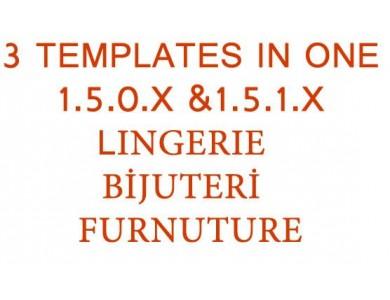 Kampanya 3 tema bir arada 1.5.x tüm versiyonlar uyumlu