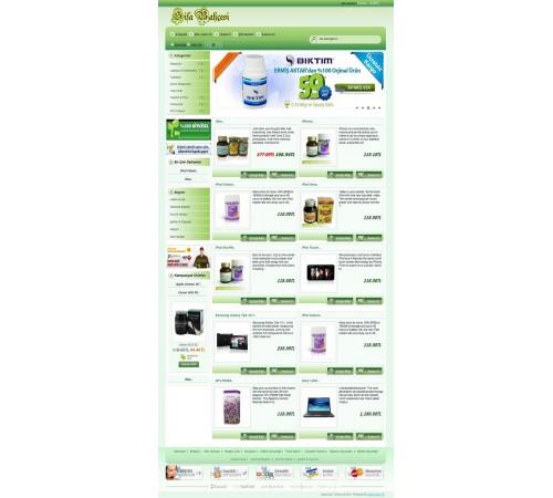 Opencart 1.5.1.x. Herbalist Tema