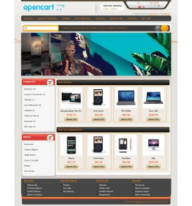 Opencart Mis-cart 1.5.0 Theme