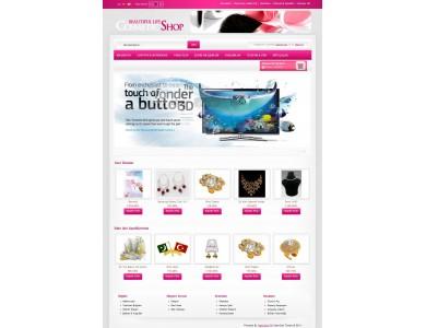 Opencart Cosmetic-Shop 1.5.x Tema
