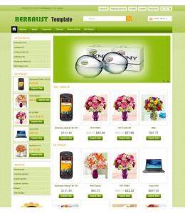 Opencart 1.5.2-1.5.3-1.5.4-1.5.5 Herbalist Flower Teması