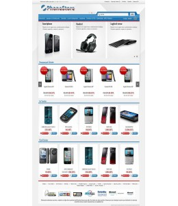 Opencart 1.5.2.x İstanbul Phone Store Template