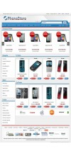 Opencart 1.5.2x -1.5.3.1- 1.5.4x  İstanbul Phone Store Template