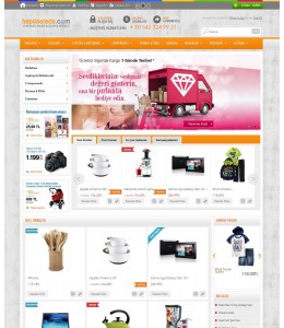 Opencart 1551 Versiyon Marketing Tasarımı full paket