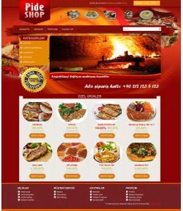 Opencart  Restoran ve Pastane Temasi (Full responsive)